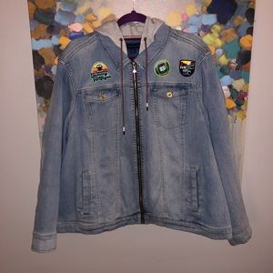 Tommy Hilfiger Patchwork Denim Jacket